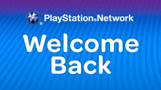 Sony Welcome Back