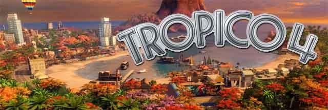 Tropico 4 Logo Cabecera