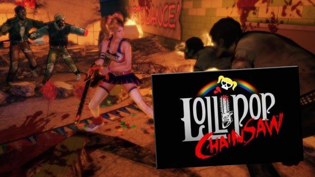 Lollipop Chainsaw Imagen Logo