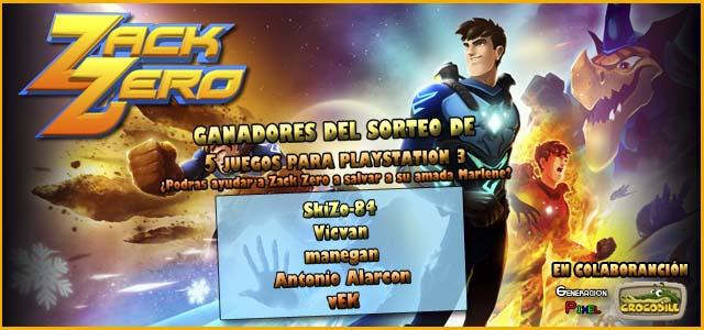 Zack Zero Ganadores Concurso 2