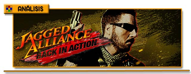Cabecera Jagged Alliance Back in Action Análisis