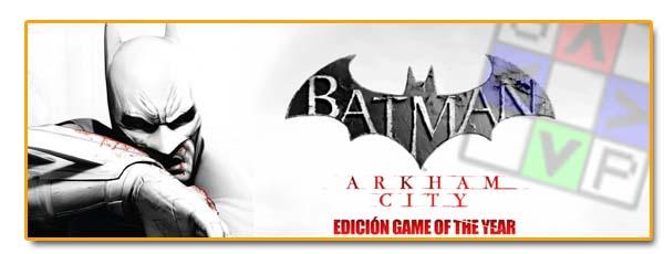 Cabeceras Noticias Batman Arkham City Goty