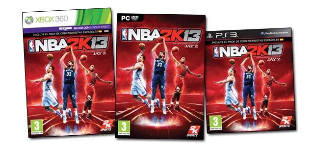 Caratula NBA 2k13