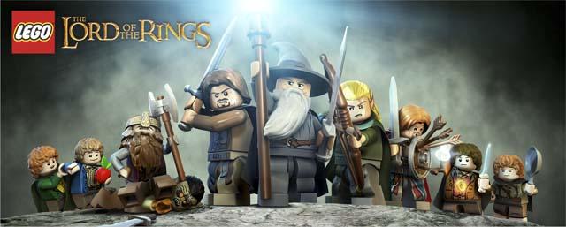 La comunidad del anillo lego