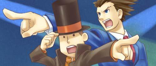 Professor Layton vs Ace Attorney