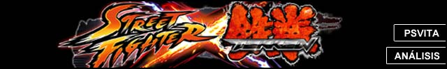 Cabeceras Analisis Street Fighter x Tekken Vita