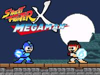 Street Fighter X Mega Man logo