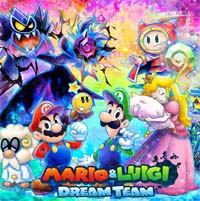 mario y luigi dream team
