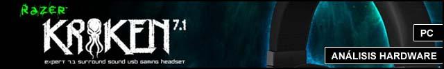 Cabeceras Analisis Hardware Auriculares kraken 71