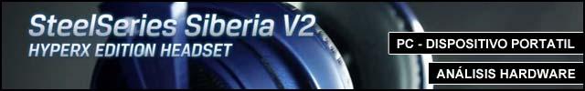 Cabeceras Analisis Hardware Steelseries Siberia v2 Hyperx2