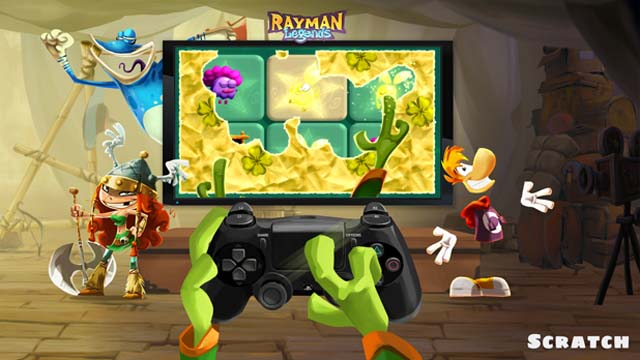 rayman legends scratch_lucky