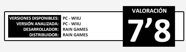 Valoracion Teslagrad con Wiiu