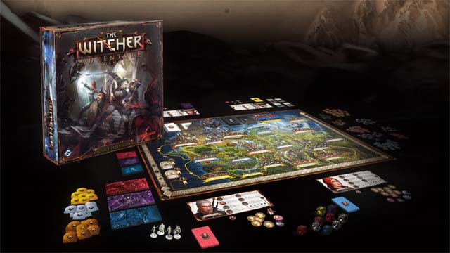 The witcher tablero