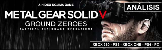 Cab Analisis 2014 Metal Gear Solid V Ground Zeroes