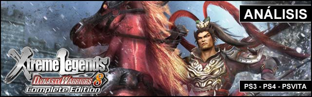 Cab Analisis 2014 Dynasty Warriors 8 XL