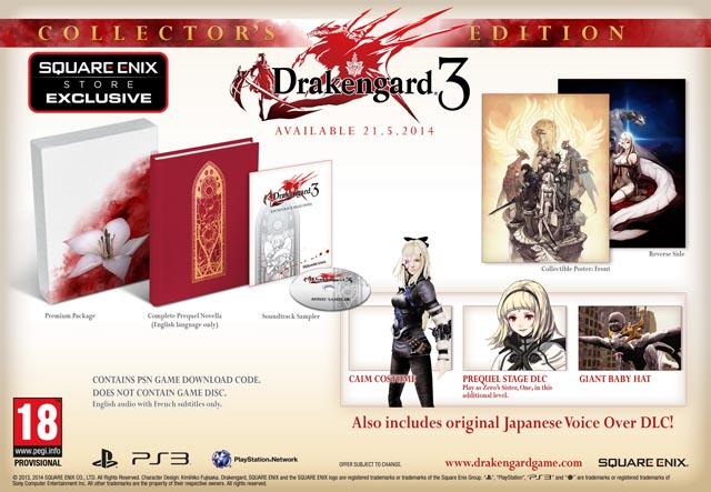 Drakengard Edicion especial