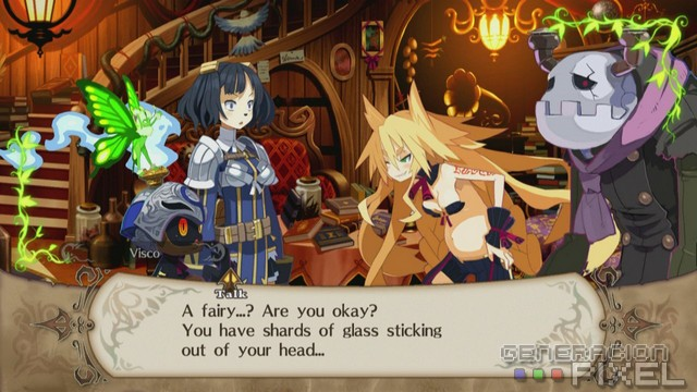 The Witch and the hundred Knight analisis img01