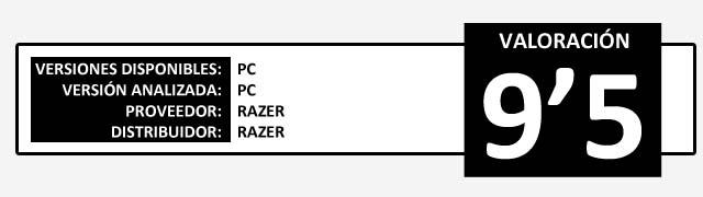 Valoracion ver2013 HARDWARE RAZER Destructor