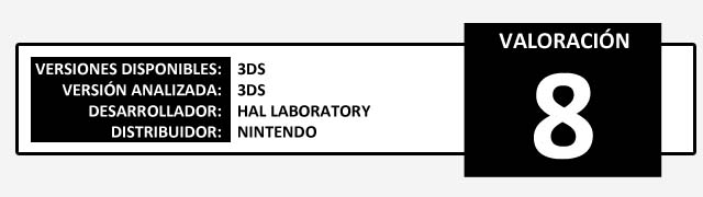Valoracion Kirby Triple Deluxe
