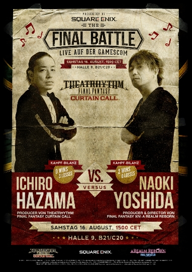 SE Final Battle versus poster_online