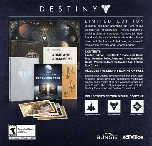 destiny-limited-edition