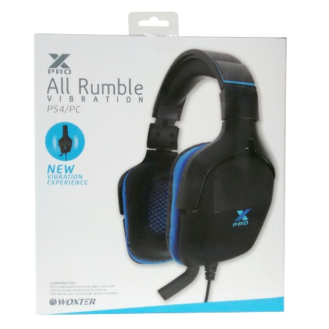 Auriculares X-Pro All Rumble  (1)
