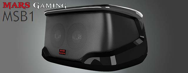 ANÁLISIS HARD-GAMING: Altavoz Bluetooth Mars Gaming MSB1