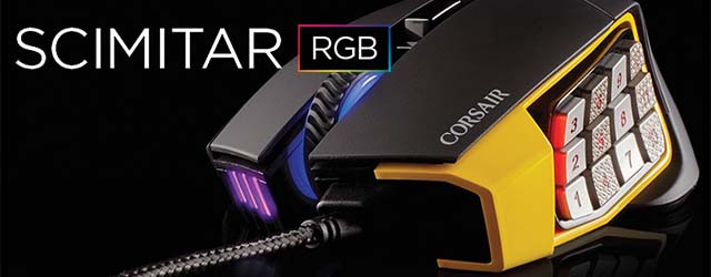 ANÁLISIS HARD-GAMING: Ratón Corsair Scimitar RGB Gaming