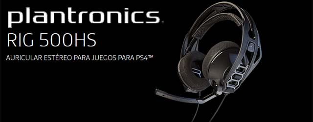 ANÁLISIS HARD-GAMING: Auriculares Plantronic RIG500HS