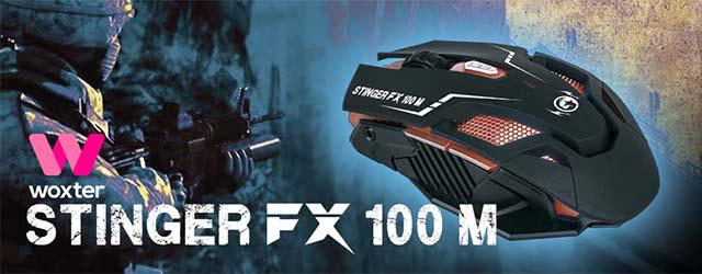 Ratón Stinger FX100 M cAB