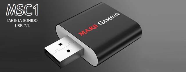 ANÁLISIS HARD-GAMING: Tarjeta de Sonido Mars Gaming USB 7.1