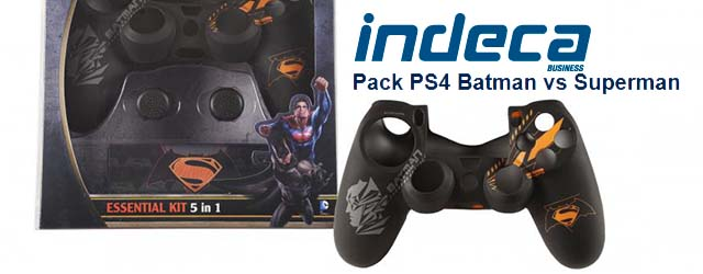 pack indeca ps4 batman