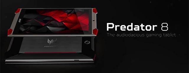 ANÁLISIS HARD-GAMING: Tablet Acer Predator 8