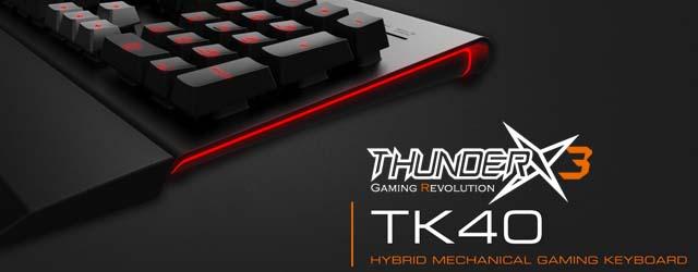 ANÁLISIS HARD-GAMING: Teclado ThunderX3 TK40