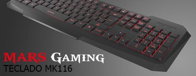 ANÁLISIS HARD-GAMING: Teclado Mars Gaming MK116