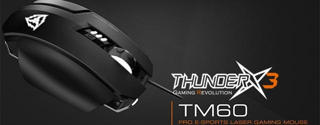 ANÁLISIS HARD-GAMING: Ratón ThunderX3 TM60