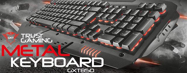 ANÁLISIS HARD-GAMING: Teclado Trust GXT 850 Metal
