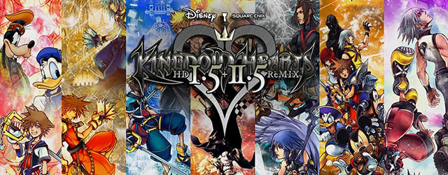 Kingdom Hearts HD 1.5+2.5 ReMIX cab