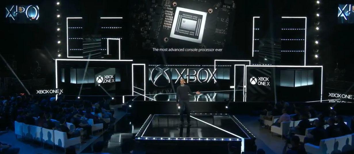 xbox one x prese