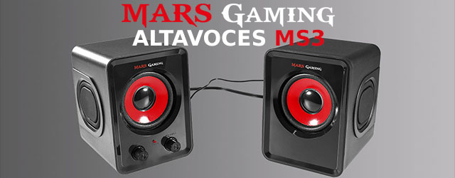ANÁLISIS HARD-GAMING: Altavoces Mars Gaming MS3