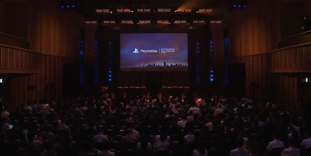 TGS Press Sony conferencia