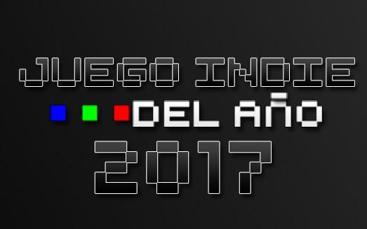Nuevo Logo Generacion Pixel Juego del año iNDIE DEL AÑO 2017