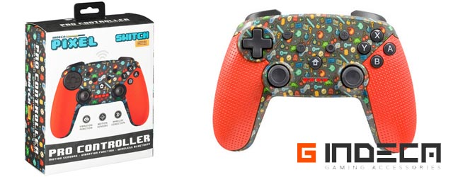 ANÁLISIS HARD-GAMING: Mando Pro Nintendo Switch Indeca