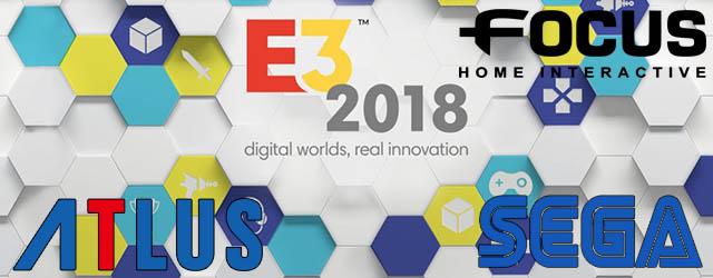 e3 2018 sega focus atlus