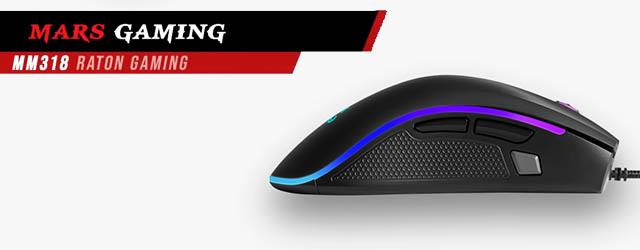 ANÁLISIS HARD-GAMING: Ratón Mars Gaming MM318