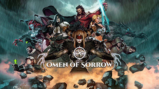 Omen of Sorrow Banner Small