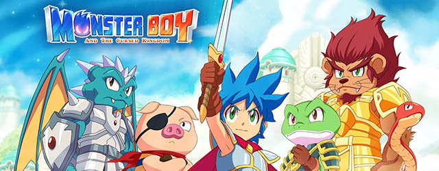 Monster Boy y el Reino Maldito cab