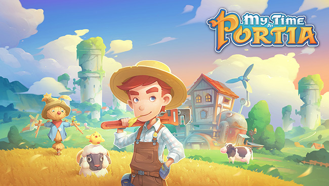 My Time at Portia Artwork