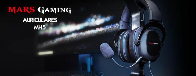 ANÁLISIS HARD-GAMING: Auriculares Mars Gaming MH5