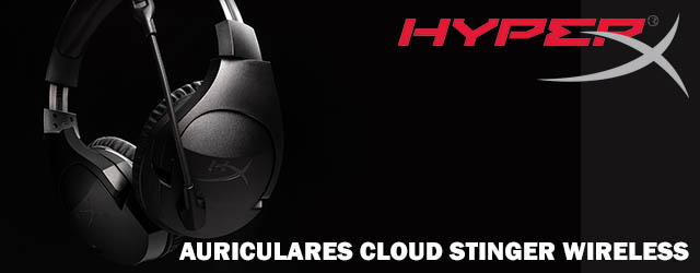 ANÁLISIS HARD-GAMING: Auriculares HyperX Cloud Stinger Wireless